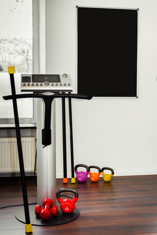 Trainingsgeräte des Studios