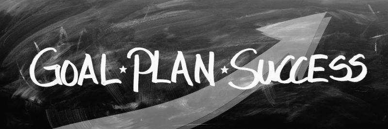 motivierender Text: goal-Plan-Success